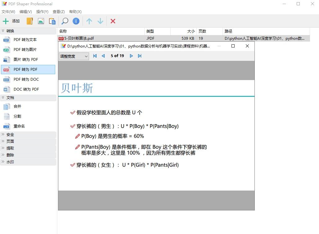 全能PDF工具箱–便携特别版[Windows]