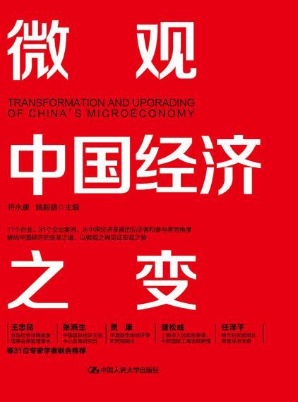 《微观中国经济之变》符永康/姚毅婧epub+mobi+azw3