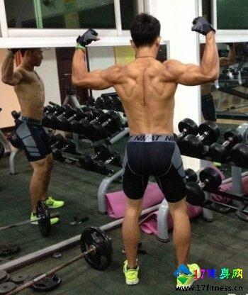 背部肌肉锻炼要领图解-追梦健身网