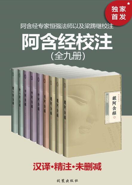 《阿含经校注(全九册)》恒强/梁踌继epub+mobi+azw3