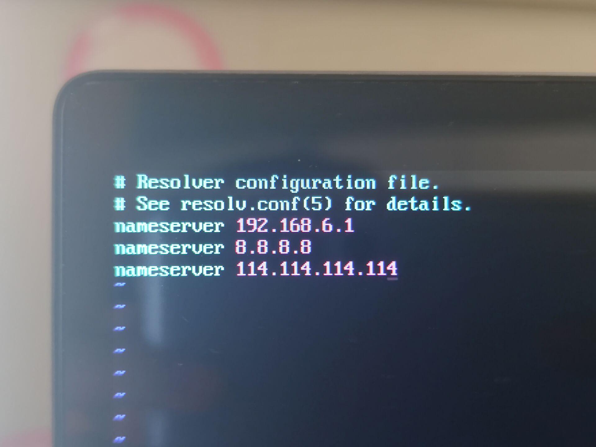 resole.conf文件