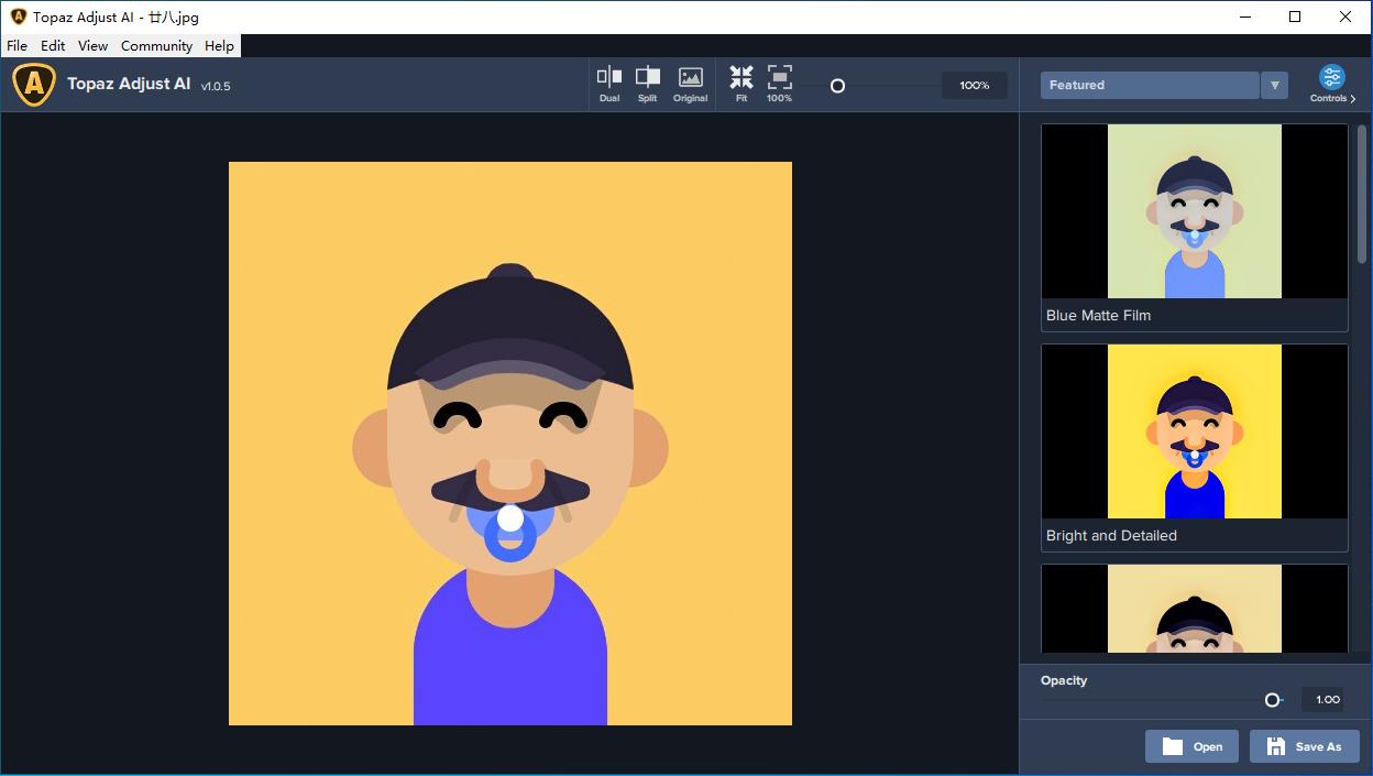 Topaz Adjust AI v1.0.5 HDR 渲染滤镜 后期处理工具