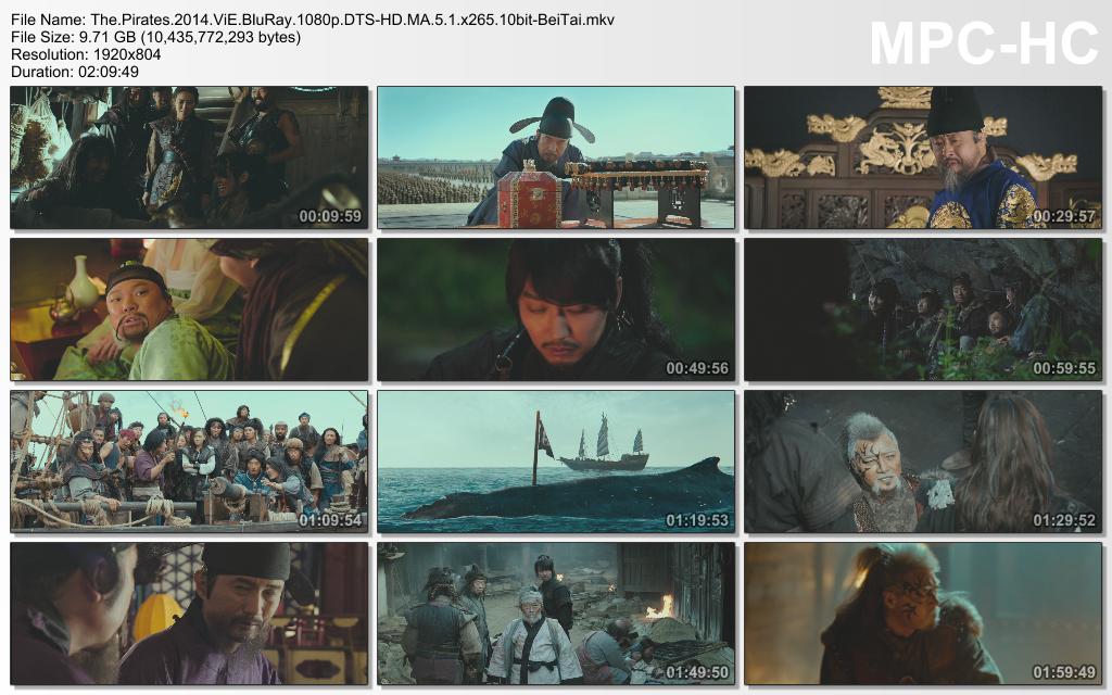 The Pirates 2014 ViE BluRay 1080p DTS-HD MA 5.1 x265 10bit-BeiTai screenshots