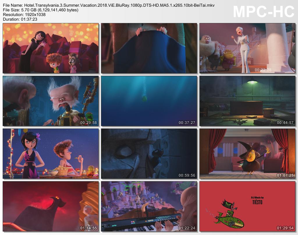 Hotel Transylvania 2012-2018 ViE BluRay 1080p DTS-HD MA5.1 x265 10bit-BeiTai screenshots